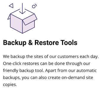 SiteGround-Backup