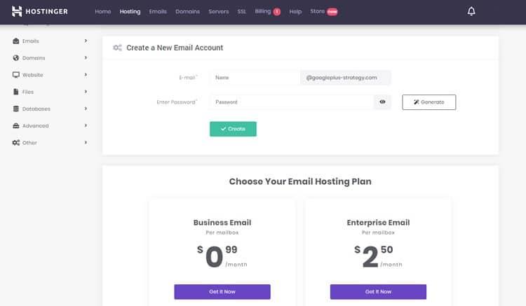 hostinger-demo-email