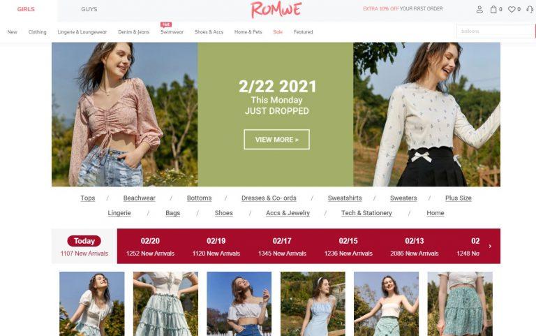 best-fashion-affiliate-programs-romwe