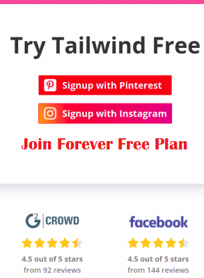 Tailwind-create-free-forever-plan